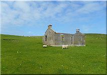 HU3630 : Newer Ruin at Minn by Des Blenkinsopp