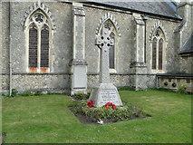 TM2850 : Melton War Memorial by Adrian S Pye