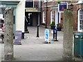 SX8060 : Two granite pillars by Michael Dibb
