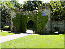 ST7734 : Clocktower Gateway (North Side) by David Dixon