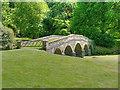ST7733 : Stourhead, The Palladian Bridge by David Dixon