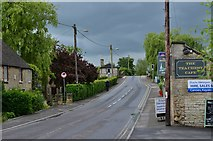 SU2199 : Lechlade: South along Thames Street to the bridge that crosses the Thames by Michael Garlick