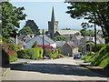 SW7821 : Towards St Keverne village centre by Chris Allen