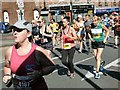 SJ9594 :  Hyde 7 Road Race 2017: Determined runners by Gerald England