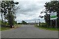 SP5873 : Entrance, Crick Community Sports Centre by Robin Webster