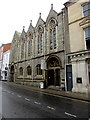 SS5533 : Grade II listed former United Reformed Church, Cross Street, Barnstaple by Jaggery