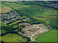 NS4264 : Site of Merchiston Hospital from the air by Thomas Nugent