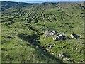 NN2448 : Erosion on the slopes of Sron nam Forsair by wrobison