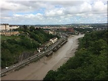 ST5673 : Bristol from the Clifton Suspension Bridge by Richard Hoare