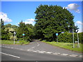 SP1398 : West end of Fox Hill Road, Roughley by Richard Vince