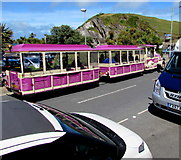 SS5147 : Ilfracombe Land Train in Wilder Road, Ilfracombe by Jaggery