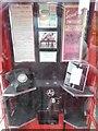 SU9985 : Inside of Adopted K6 Telephone Box, Fulmer by David Hillas
