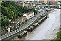ST5672 : Decaying wharfs on River Avon by Richard Hoare