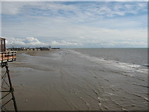 SD3036 : Blackpool Shoreline from The North Pier by Stephen Armstrong