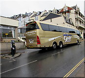 SS5147 : Bakers Dolphin Gold Service coach in Wilder Road, Ilfracombe by Jaggery