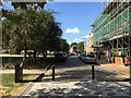 TQ3276 : Camberwell Green, the road, is now a cul-de-sac, Camberwell, south London by Robin Stott