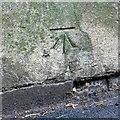 ST5773 : Bench mark, Richmond Hill Avenue by Alan Murray-Rust