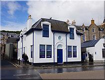 HU4741 : Harbour House, Lerwick by Ian S