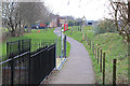 SX8061 : Approach to Totnes riverside Station by Chris Allen