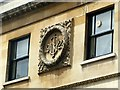 ST5673 : Date and monogram, former National Provincial Bank, Clifton by Alan Murray-Rust