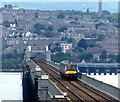 NO3926 : Fife bound train crossing the Tay Bridge by Mat Fascione