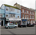 SY3492 : Joules and a former Lloyds Bank branch in Lyme Regis by Jaggery