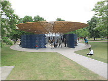 TQ2679 : Serpentine Gallery Pavilion 2017 from gallery by David Hawgood