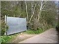 SX8151 : Lane to Oldstone Cross from Blackawton past Quarryhead Wood by Robin Stott