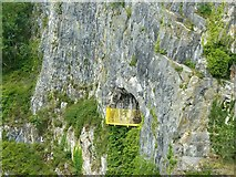 ST5673 : Giant's Cave, Avon Gorge by Alan Murray-Rust