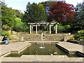 NZ8910 : The Lily Pond in Pannett Park by Steve Daniels