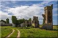 X1776 : Ardoginna House (Ardo Castle), Ardmore (4) by Mike Searle