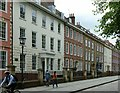 ST5872 : Queen Square, Bristol, South side by Alan Murray-Rust