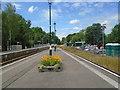 TQ5434 : Eridge Station Platform by Paul Gillett