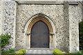 TQ5840 : Church of St John - doorway by N Chadwick