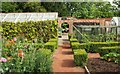 SP1772 : Kitchen garden, Packwood House by Derek Harper