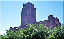 SJ3589 : Anglican Cathedral, Church of Christ, Liverpool by Len Williams