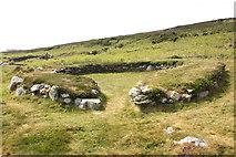 SH2181 : Holyhead Mountain Hut Circles by Jeff Buck