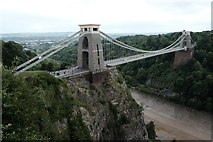 ST5673 : Clifton suspension bridge by John Winder