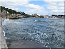 TA0487 : High Tide, South Bay, Scarborough by Graham Robson