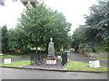 SE4304 : War memorial at Billingley by John Slater