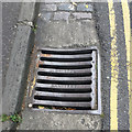 ST5873 : Gully grating, Kingsdown Parade, Kingsdown, Bristol by Robin Stott