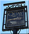 SS9746 : Quay Inn name sign, Minehead by Jaggery