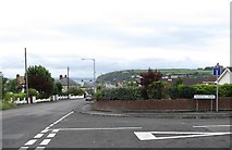 J4792 : The Donegall Park junction on Donegall Avenue, Whitehead by Eric Jones