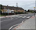 ST2280 : Zebra crossing on a hump, Countisbury Avenue, Llanrumney, Cardiff by Jaggery
