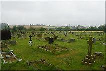 ST0642 : Churchyard extension at St Decuman's by Bill Boaden