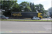 ST3091 : Tovali soft drinks lorry, Malpas Road, Newport by Jaggery