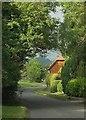 SO9542 : Road into Great Comberton by Derek Harper