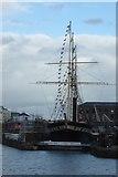 ST5772 : Great Western Dockyard Dry Dock by DS Pugh