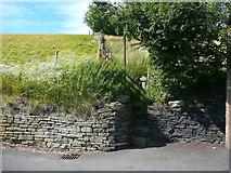 SE0424 : Sowerby Bridge FP35 at Warley Wood Lane, Luddendenfoot by Humphrey Bolton