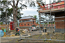 SP0838 : A building site in Broadway 4 ...... by Philip Pankhurst